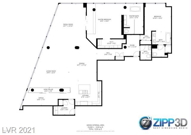 3726 South Las Vegas Boulevard 3602 Property Photo 31