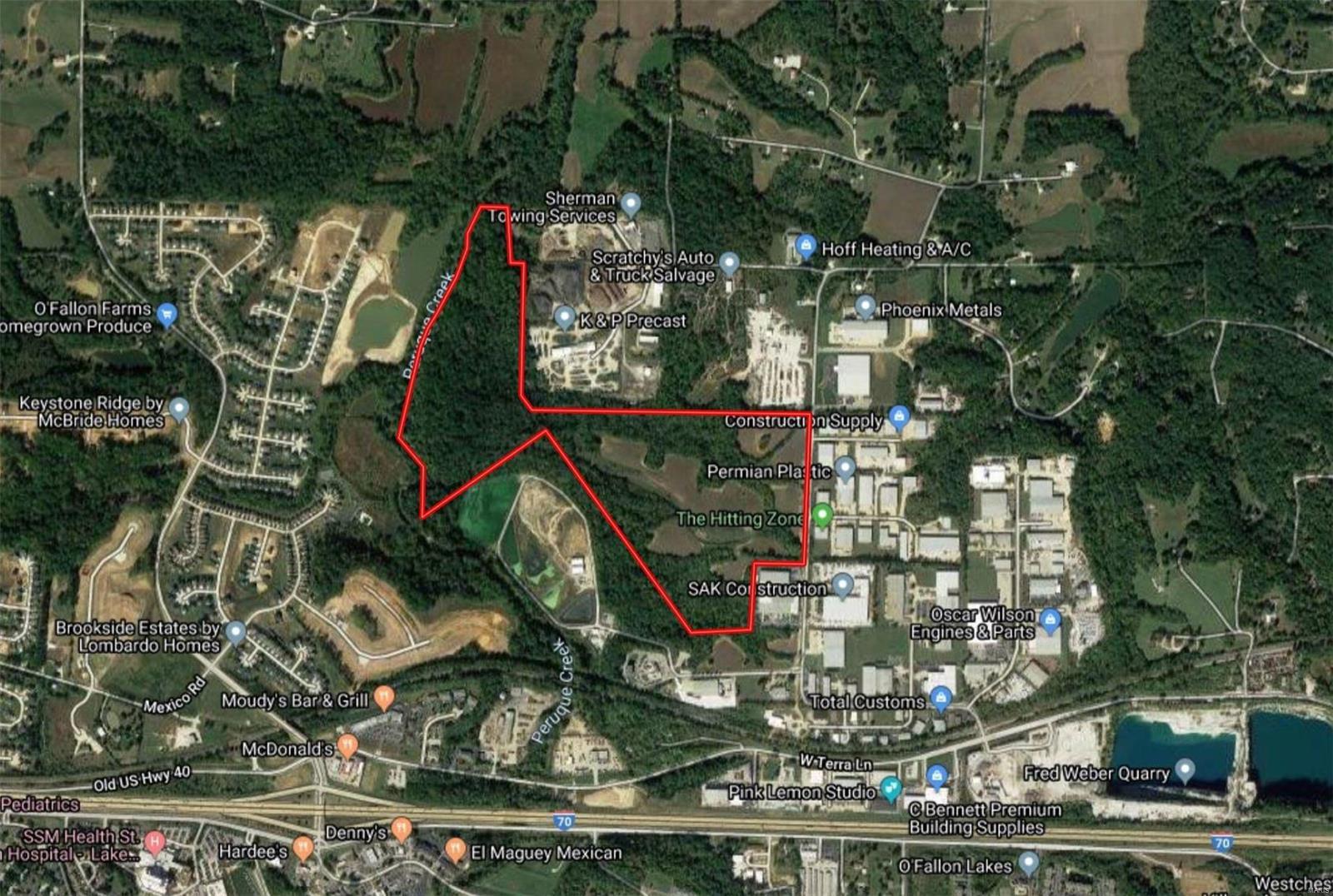 122 +/- Acres. Hoff Road Property Photo 1