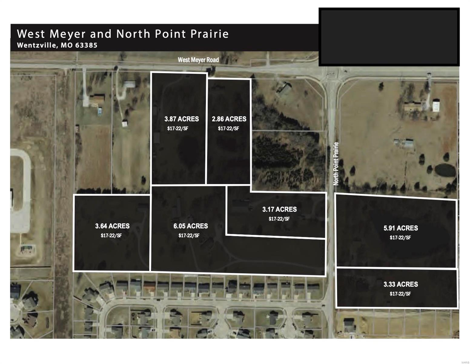0 West Meyer & Pointe Prairie Road Property Photo 1