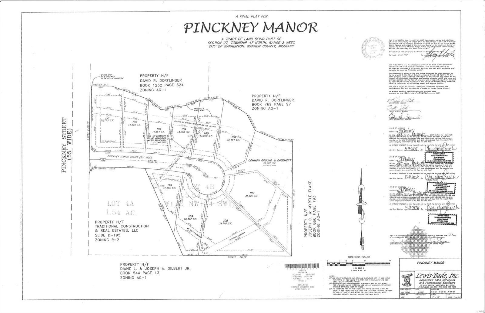 18509 Pinckney Manor Court Property Photo 1