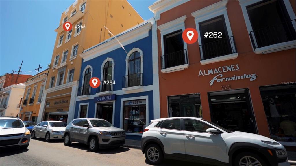 266, 264, 262 San Francisco Street Property Photo