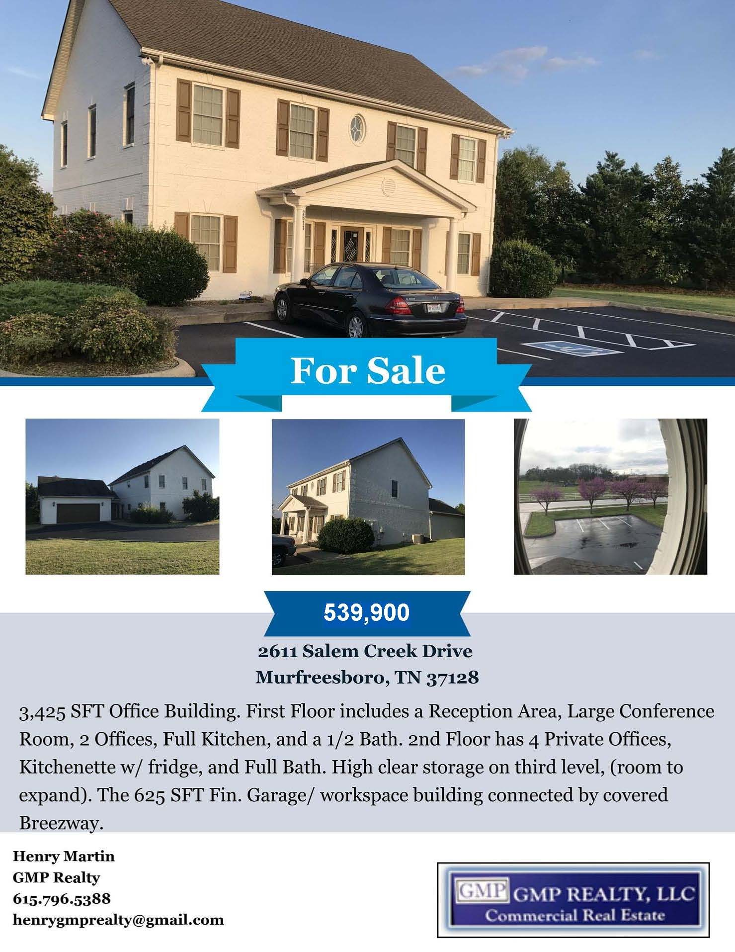 2611 Salem Creek Drive Property Photo