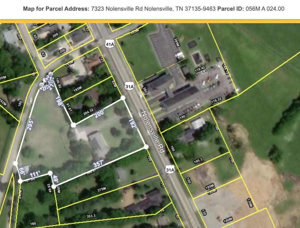 7323 Nolensville Rd Property Photo