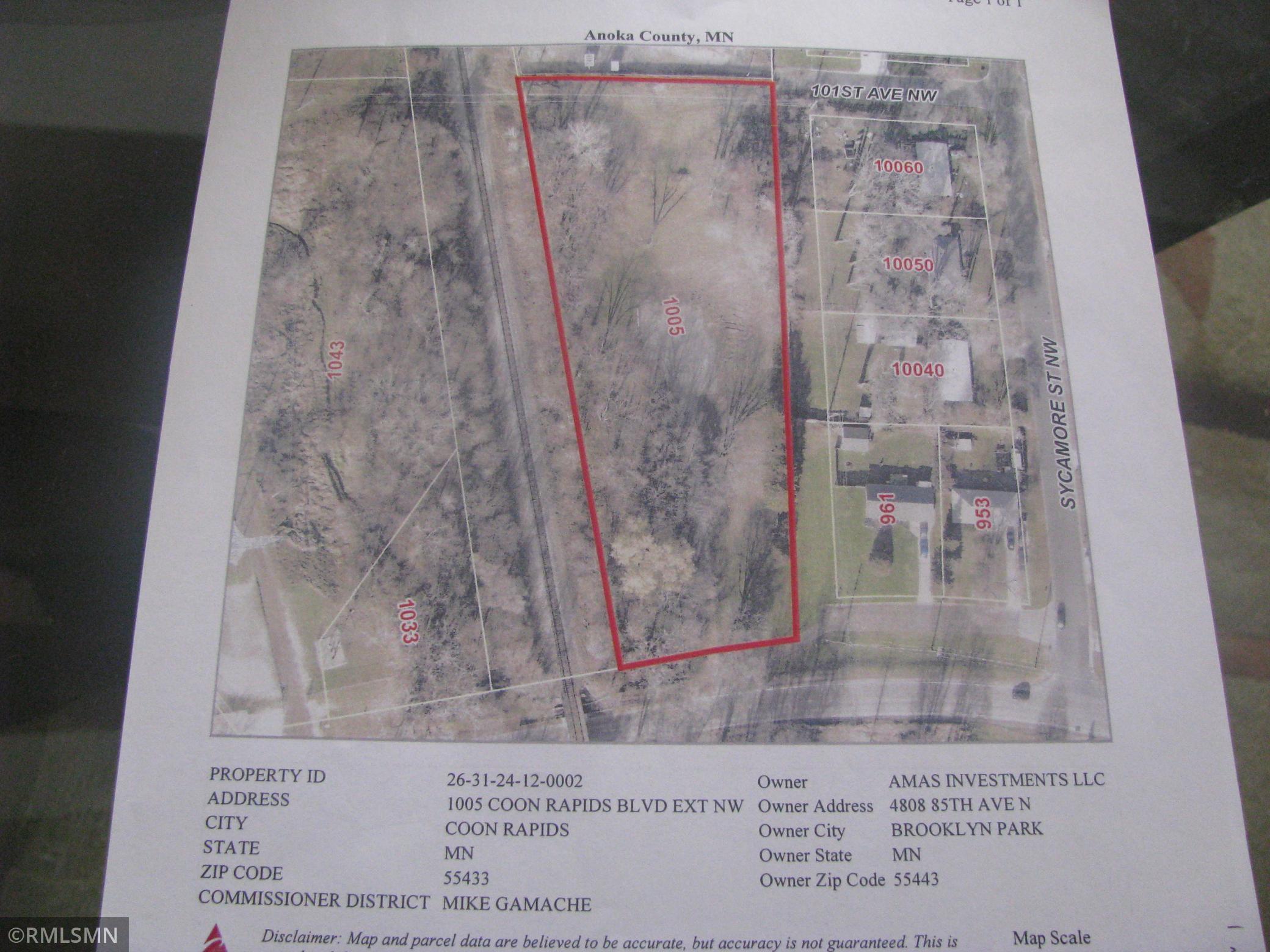 1005 Coon Rapids Boulevard Extension Property Photo