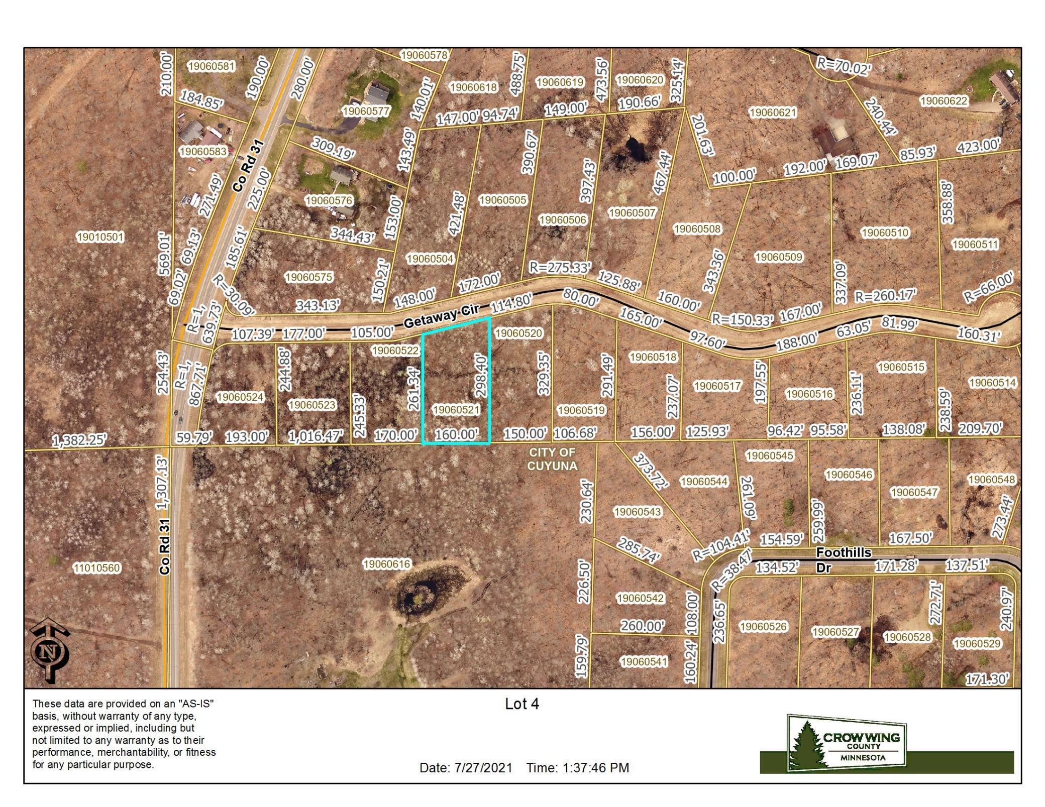 1st Add Cuyuna Hills Lot 4 Real Estate Listings Main Image