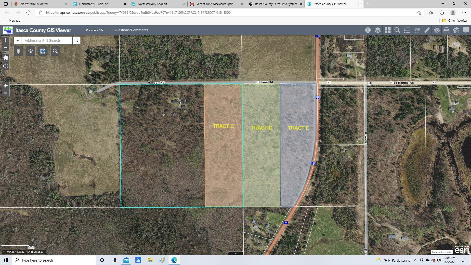 Tract D Hanson Rd. Property Photo