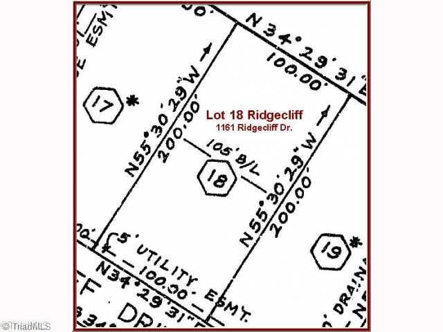 1161 Ridgecliff Drive Property Photo