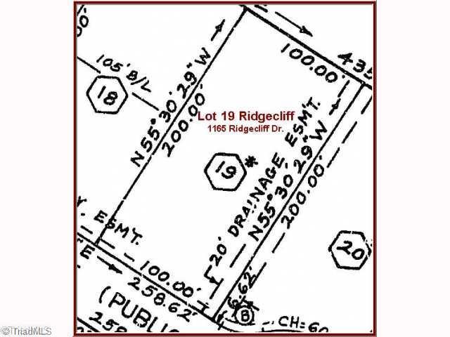 1165 Ridgecliff Drive Property Photo